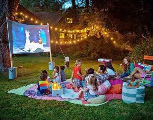 σινεμα για παιδια με προτζεκτορα