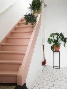 ροζ σκαλιά