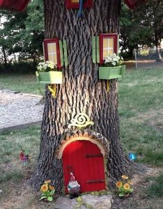 έξυπνες ιδέες κορμό δέντρου