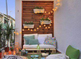 Διακόσμησε τον τοίχο στο μπαλκόνι