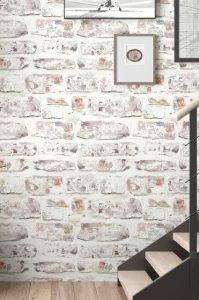 χολ σπιτιού πέτρινος τοίχος