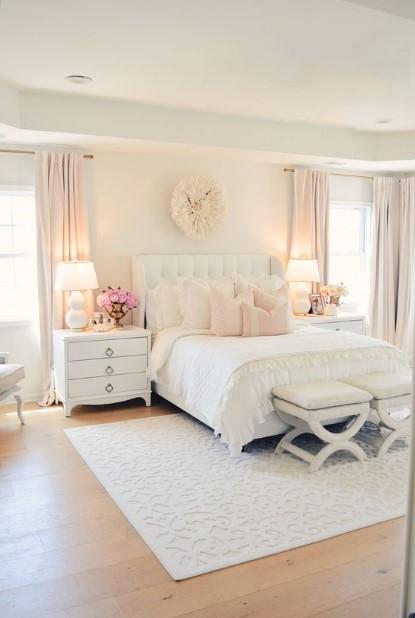 άσπρο δωμάτιο παστέλ χρώματα διακοσμήσεις λευκό δωμάτιο