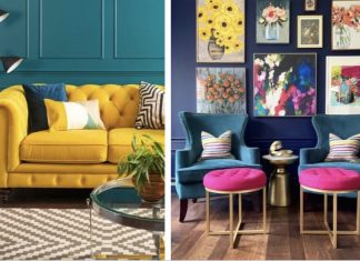 διακόσμηση σπιτιού με χρώματα