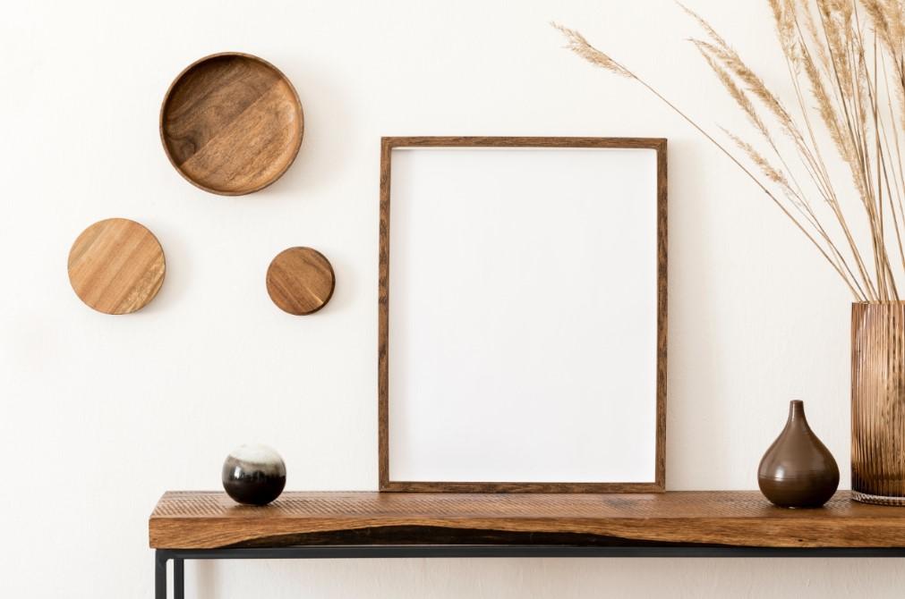 Ξύλινα και μεταλικά στοιχεία στην διακόσμηση του σκανδιναβικού στυλ