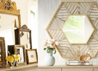 πρωτότυποι καθρέφτες για το σπίτι