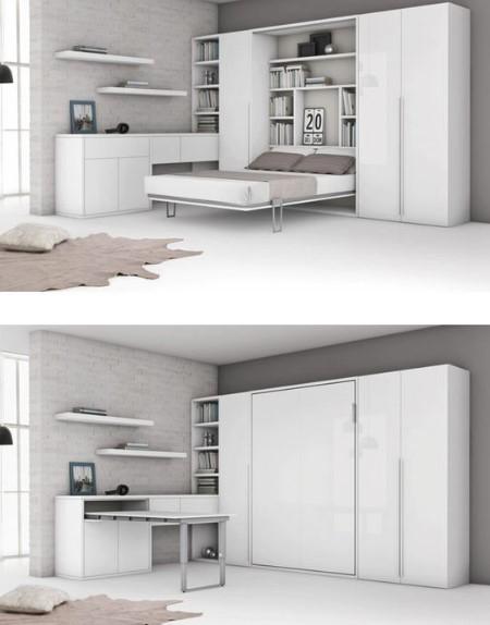 πτυσσόμενο κρεβάτι τοίχου