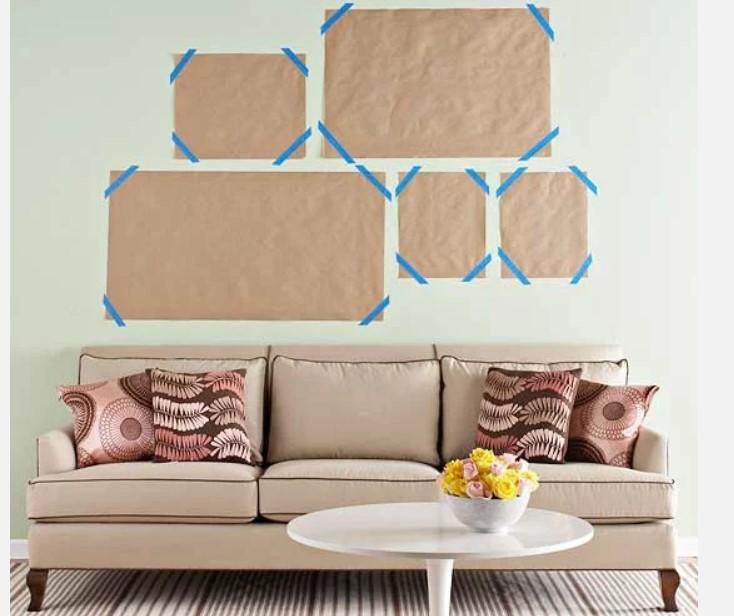 Πως να αποφασισεις για το μέγεθος και το σημείο που θα διακοσμήσεις τους πίνακες
