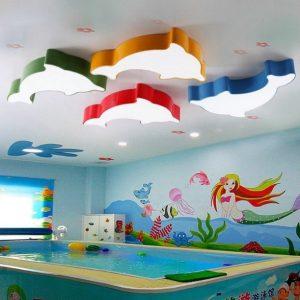 φωτιστικά οροφής για παιδικό δωμάτιο