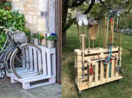 ιδέες για το σπίτι από ξύλινες παλέτες