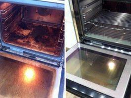 καθάρισμα φούρνου από τα λίπη