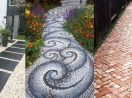 όμορφοι διάδρομοι κήπου