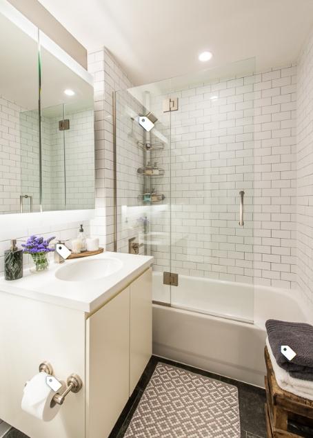 πλακάκια μπάνιου διακόσμηση