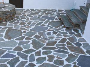 πετρες καρυστου πατωμα
