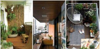 συμβουλές διακόσμησης μακρόστενο μπαλκόνι