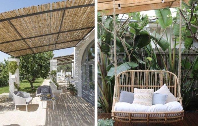 διακόσμηση εξωτερικου χωρου με bamboo