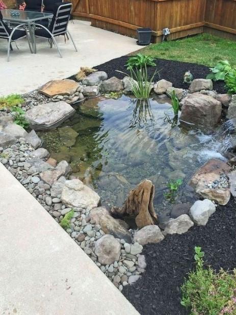 λίμνη πέτρες κήπος διακόσμηση κήπο