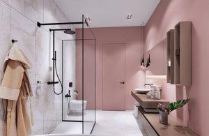 minimal διακόσμηση μπάνιου