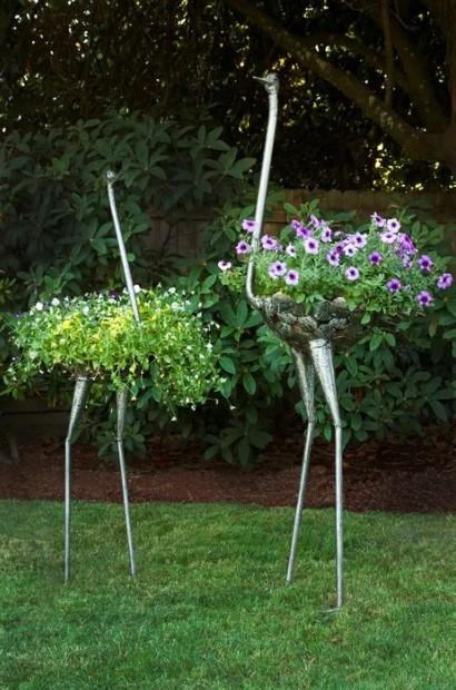 ψηλά κασπό κήπος λουλούδια