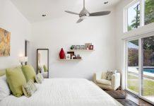 υπνοδωμάτιο ανεμιστήρας οροφής δροσερό σπίτι