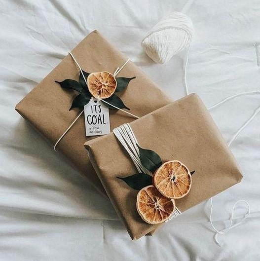 αποξηραμένα φρούτα διακόσμηση χαρτί περιτυλίγματος