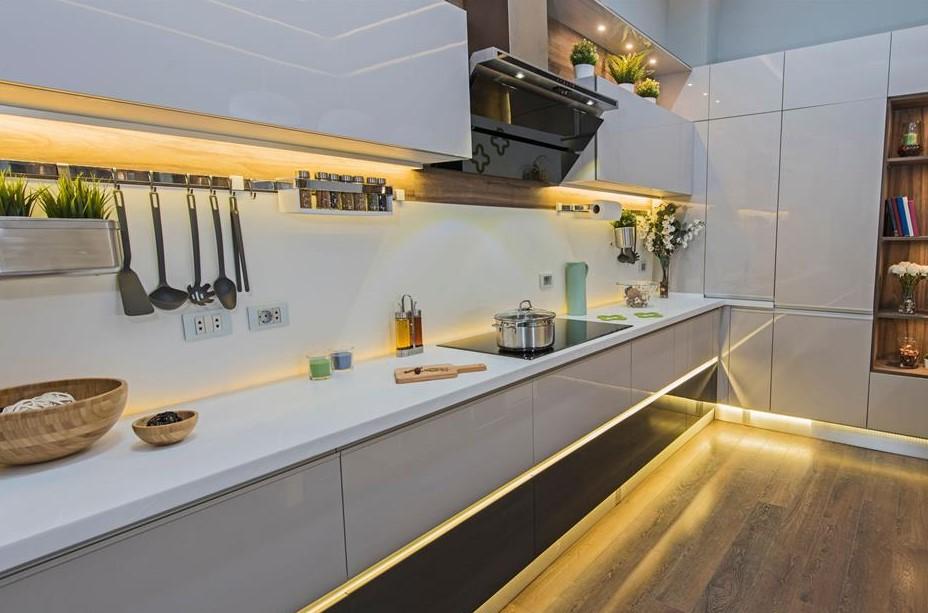 φωτισμός στη κουζίνα