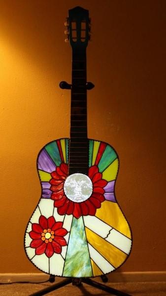 φωτιζόμενη κιθάρα διακοσμητικό