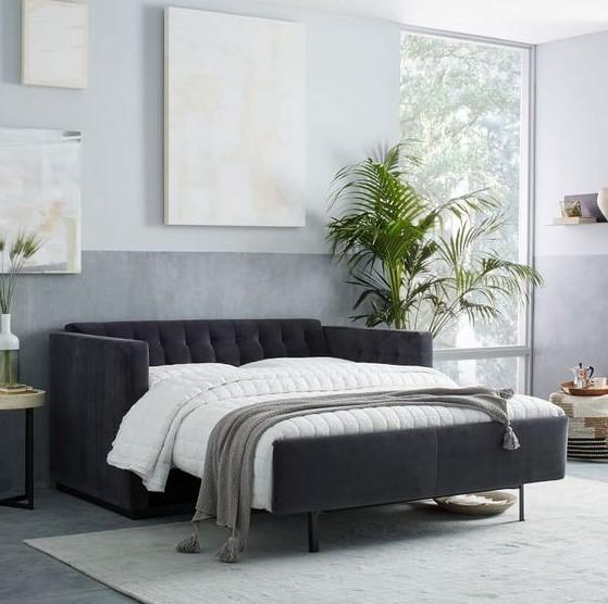 καναπές- κρεβάτι σαλόνι