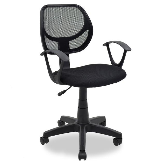 μαύρη καρέκλα γραφείου έπιπλα φοιτητικό σπίτι