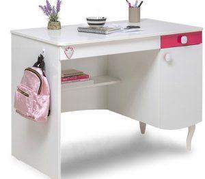 ροζ λευκο γραφειο παιδικο