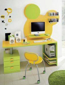 κιτρινο πρασινο γραφειο