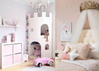 ιδέες διακόσμησης για παιδικό δωμάτιο σε κορίτσι