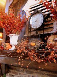 κλαδια φθινοπωρινα σε βαζο