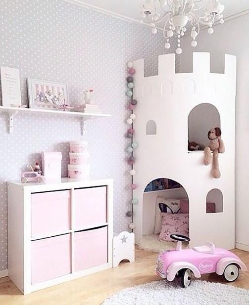 κοριτσίστικο παιδικό δωμάτιο