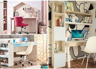 ιδεες για παιδικά γραφεία