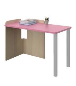 ξυλινο ροζ γραφειο