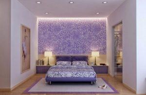 floral ταπετσαρία για υπνοδωμάτιο