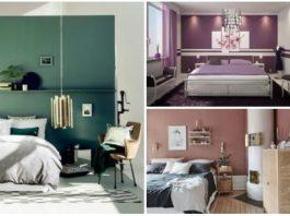 τάσεις χρώματα τοίχοι υπνοδωματίου
