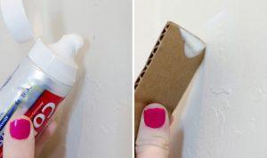 οδοντροκρεμα για να κελισω τρυπες στον τοιχο