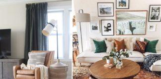 όμορφα μοντέρνα σαλόνια