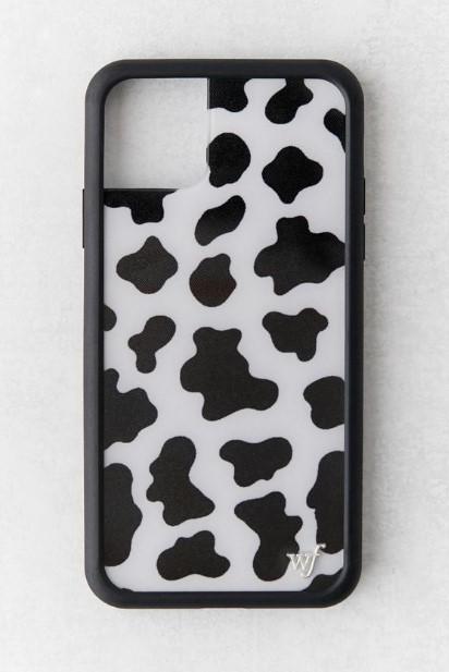 θήκη κινητού με το μοτίβο της αγελάδας