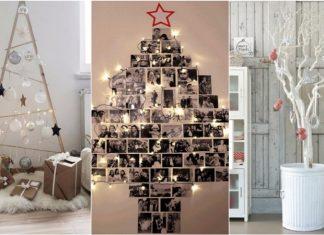 διαφορετικό Χριστουγεννιάτικο δέντρο