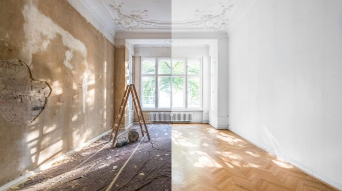 δωμάτιο γκρεμισμένο ανακαινισμένο λάθη ανακαινίζεις