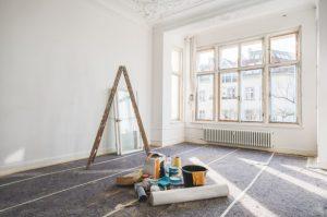 δωμάτιο υπό ανακαίνιση