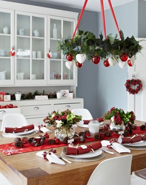 γιορτινό φωτιστικό οροφής