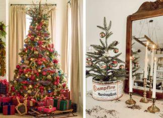ιδέες για vintage χριστουγεννιάτικη διακόσμηση στο σπίτι