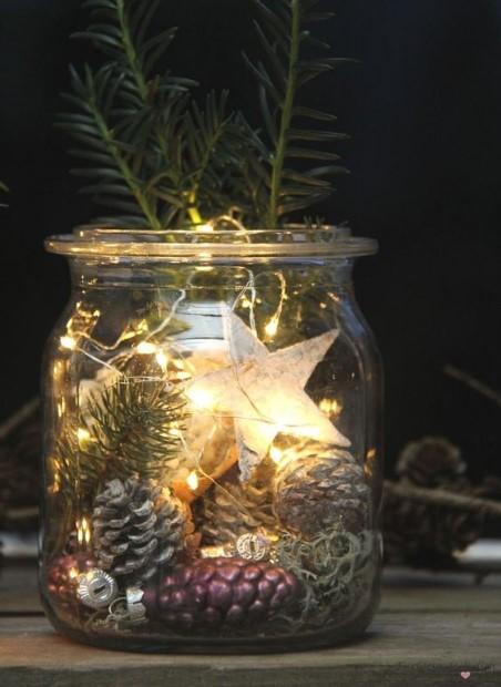 βάζο χριστουγεννιάτικο