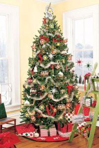 δέντρο χριστουγεννιάτικο με χαλάκι