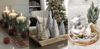 Χριστουγεννιάτικη διακόσμηση τραπεζιού