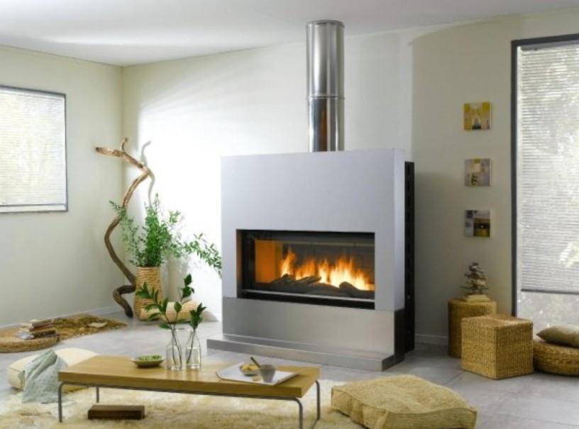 ενεργειακό τζάκι σαλόνι οικονομικοί τρόποι θέρμανσης