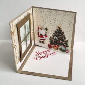ευχητήρια κάρτα χριστουγέννων